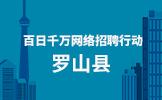 """2020年""""百日千万网络招聘行动""""罗山县岗位需求信息"""